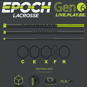 Epoch Gen.6 Lacrosse Shafts