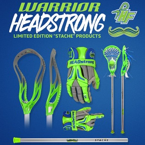 "Warrior HEADstrong Limited Edition ""Stache"" Products"