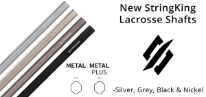 StringKing Metal & Metal Plus Lacrosse Shafts