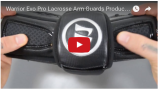 Warrior Evo Pro Lacrosse Arm Guards