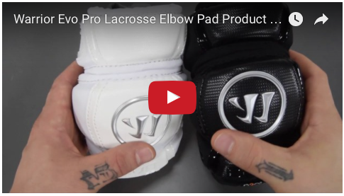 Warrior Evo Pro Lacrosse Elbow Pads