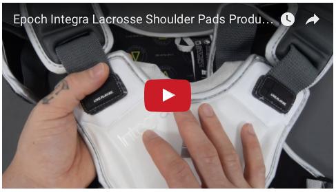 YouTube - Epoch Integra Lacrosse Shoulder Pads