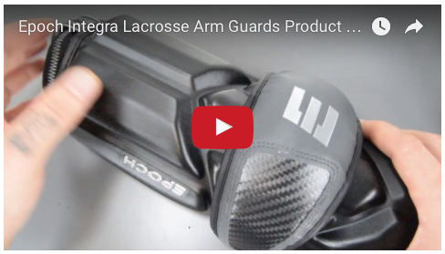 YouTube - Epoch Integra Lacrosse Arm Guards